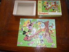 SCARCE DISNEY 1970's Mini Disneyland  UK  Jigsaw Puzzle  100 piece COMPLETE # 2