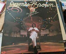 New listing RARE JAMES BROWN LP ORIGINAL DISCO MAN PROMOTIONAL STAMP NR MINT