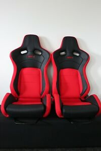 2 x Crank Motorsport GT2, Red fabric .  ADR Approved