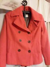 Old Navy Ladies Wool Coat Size Med