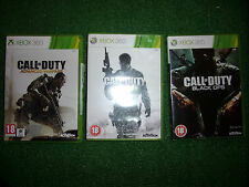 3 X Completo Juegos De Xbox 360 Call of Duty Advanced & Guerra Moderna MW3 Black Ops