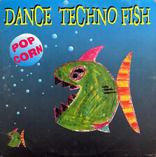 Dance Techno Fish ‎CD Single Pop Corn - France (VG+/EX+)