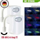 2ER LED Toilettendeckel WC Sitz Klobrille Nachtlicht Disco Toilettenlicht Bewegu