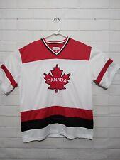 SNOWCAP Canada 🇨🇦 Maple Leaf Mens Hockey Jersey Shirt XXL RUNS SMALL