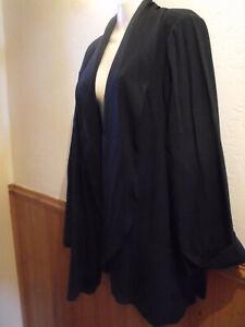 So Fabulous Black Jacket Size 30