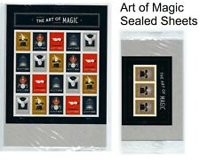 RARE USPS Sealed. Art of Magic. Set of Two(2) Sheets of Forever Stamps