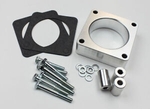 Increase Performance Jeep Throttle Body Spacer Smooth Bore 4.0L 2.5L TJ XJ YJ MJ