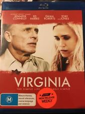 Virginia (Blu-ray, 2014) Ed Harris, Emma Roberts - Free Post!