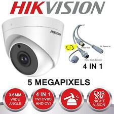 HIKVISION 5MP 2K CCTV Camera 4in1 TVI CVI AHD EXIR 20M EXIR Night 3-Axis Coax