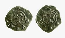 pcc2034_36) Messina. Manfredi, 1258-1266. Denaro con TAU Spahr 211 Raro