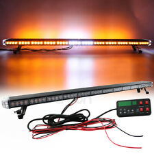"55"" LED Roof Top Warning Strobe Light Bar TOW Plow Truck W/ BRAKE TURN Lights"
