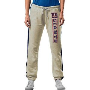 Majestic New York Giants Women's Strong Play Fleece Lounge Yoga Pants