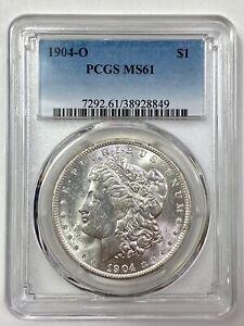 1904-O  Morgan Silver Dollar - PCGS MS 61 - NICE LUSTER