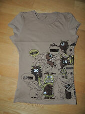 Camiseta de Zara talla S. Monstruos. Monstruitos. T-shirt. Monsters