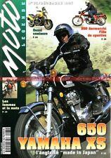 MOTO LEGENDE  75 YAMAHA XS 650 AERMACCHI 250 Ala Verde MOTOBECANE 350 R44 GUZZI