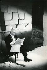 YUL BRYNNER JEAN COCTEAU LE TESTAMENT D'ORPHEE 1960 VINTAGE PHOTO ORIGINAL #2