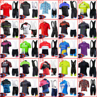 2020 men cycling jersey bib shorts set summer bike outfits bicycle sport uniform