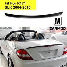 Fit For MERCEDES BENZ R171 SLK AMG Type Carbon Fiber Rear Trunk Lip Spoiler