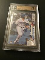2020 Topps #292 Gavin Lux RC BGS 10 Pristine Los Angeles Dodgers