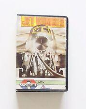 Juego / Cassette Jet Bomber MSX (1985) (Esp) (Aackosoft) (Vintage)