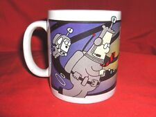 "#523 - DILBERT, DOGBERT COFFEE CUP, MUG - ""DANGER! STUPIDITY VORTEX!"""