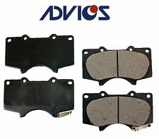 For Lexus GX460 GX470 4Runner Tacoma 135mm Front Disc Brake Pad Advics D976AD