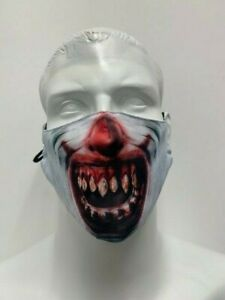 Scary Face Masks Washable Reusable Novelty Scary Adults Buy 3 get 1 Free