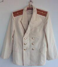 Russian Soviet Navy Jacket naval officer Army Uniform Military USSR white marine