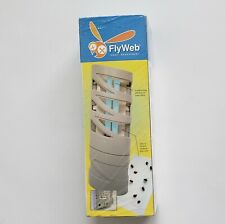 FlyWeb Fly Light Kills Flies Moths Yellow Jackets Plugs In Discreet New Sealed