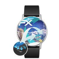 atFoliX 3x Lámina Protectora para Nokia Steel HR 36 mm transparente&flexible
