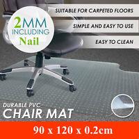 Chair Mat Medium Pile Rug Carpet Floor Protection Office Computer Desk Studded