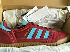 adidas indoor super purple claret blue  9 uk bnibwt . unworn