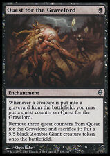 MTG Quest for the Gravelord x4 Zendikar ENGLISH LP Uncommon Black