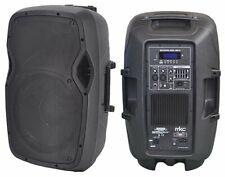 """Cassa Amplificata Professionale 15"""" Bluetooth USB MP3 RADIO FM + Telecomando"""