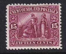 NEWFOUNDLAND 1911 15c Lake. SG127 - mounted mint