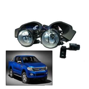 11 12 13 14 Fit Ford Ranger T6 Xlt Xl Pickup Fog Lamp Spot Light Set Wild Track