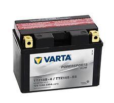Varta Powersports AGM ytz14s-4 ytz14s-bs Batería de la Motocicleta 11ah