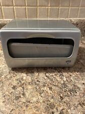 "Tork Brushed Steel Table Napkin Dispenser 5.5"" x 7.5"" x 11.5"""