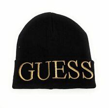 Berretto beanie donna Guess colore nero con logo  C21GU16