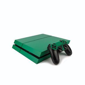 PS4 PlayStation 4 Colourful Vinyl Wrap: Matte Green / PlayStation 4 PS4 Skin ...