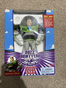 Toy Story (1995) - Buzz Lightyear - Talking Action Figure With Box &wings (1995)