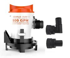 SEAFLO 12V 800 GPH Side-Mount Bilge Pump Cartridge Submersible FREE SHIPPING