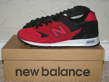 New Balance M577RRK Red/Black Mens Size 9.5 PreOwned EUC! Made In England 574
