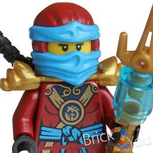 Lego Ninjago Nya Minifigure w/ Weapon Split from 70738 njo165