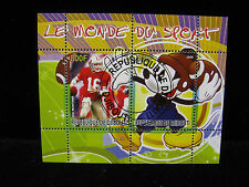 Joe Montana 49ers Mickey Mouse Disney 800F from Africa Republique De Djibouti