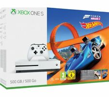 MICROSOFT Xbox One S with Forza Horizon 3 & Hot Wheels Expansion Pack & Doom
