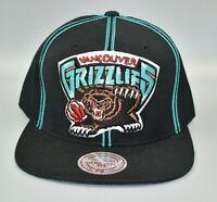 Vancouver Grizzlies Mitchell & Ness NBA Hardwood Classics Snapback Cap Hat