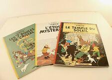Casterman Total Tintin el Templo Del Sol el 7 Bolas Cristal Herge Lote
