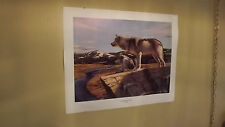 """HEADWATER PROSPECTORS"" Bryan Griggs Print Signed PP #58 of 100"