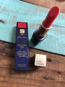 Estee Lauder Pure Color Envy Sculpt Lipstick Sheer Matte 330 Namedropper .12 Oz